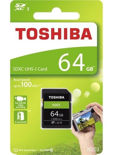 Toshiba 64Gb Sdxc Uhs-1 C10 100Mb/Sn  Renkli